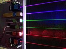 Energiewaffen Laserfarben