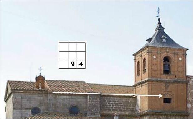 Saturn-Siegel oder Marien-Monogramm?  3x3-Dach-fin-tdl