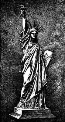 Lady (?) Liberty Lady_liberty_zeichnung