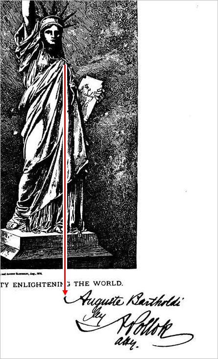 Lady (?) Liberty Patent-fueller