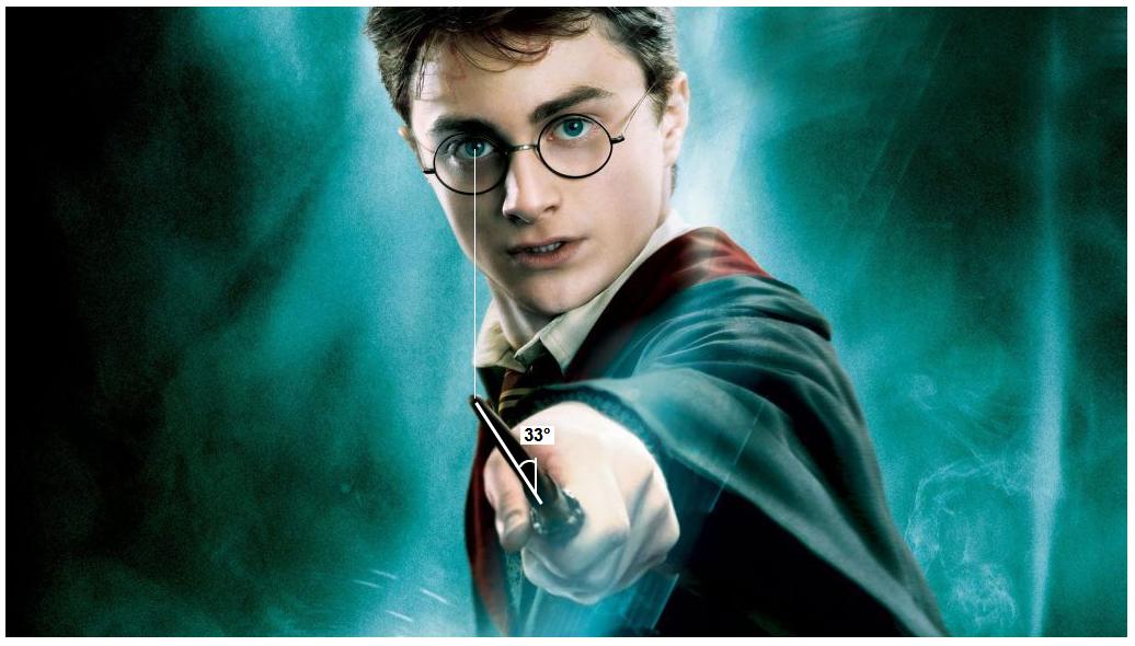 Harry Potter Zauberstab-33-grad-winkel