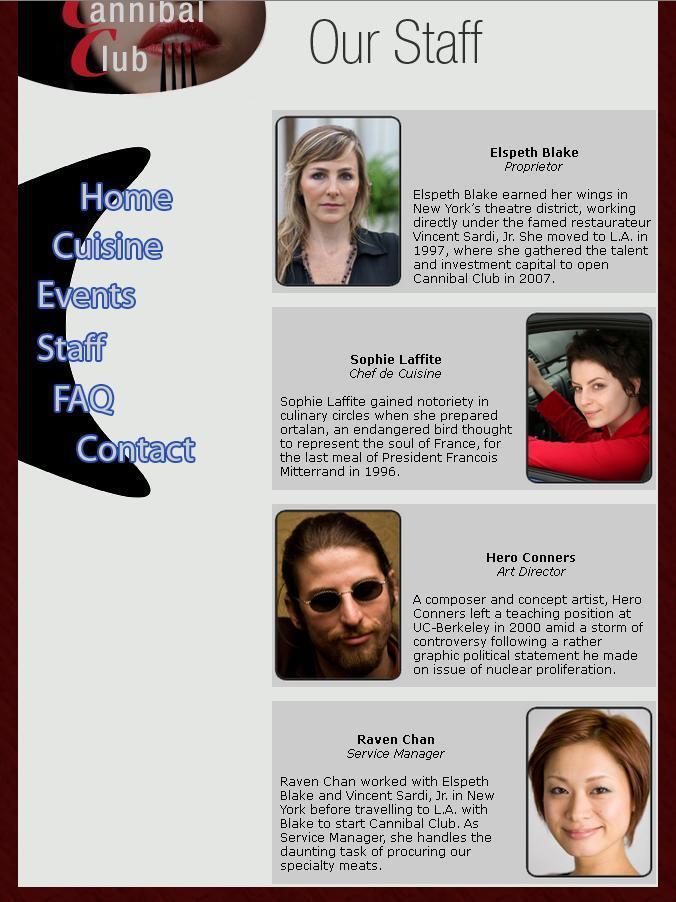 Kannibalismus - Paradigmen-Wechsel im Mainstream? - Seite 2 Staff