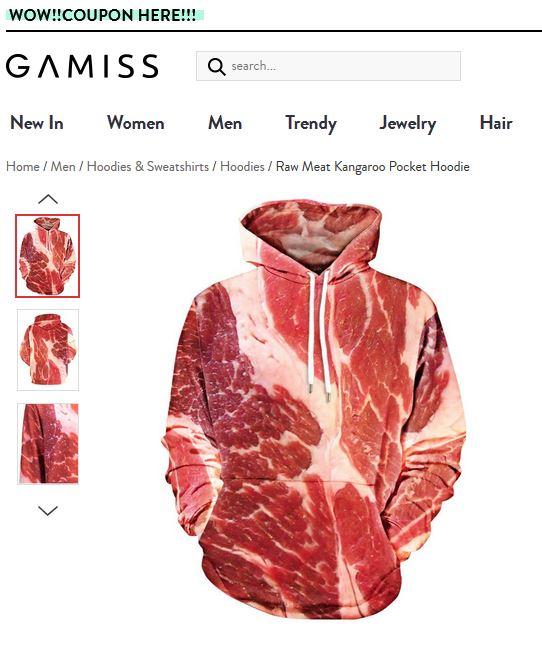 Kannibalismus - Paradigmen-Wechsel im Mainstream? Meat-Hoddie