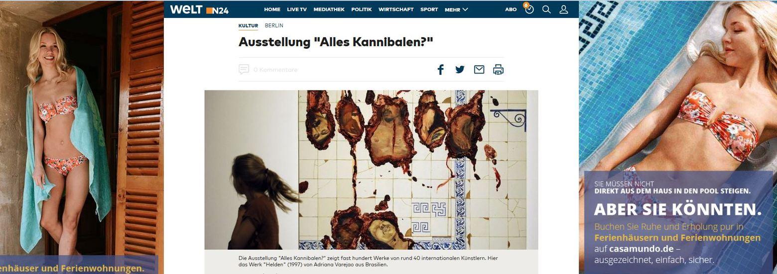 Kannibalismus - Paradigmen-Wechsel im Mainstream? Welt-de