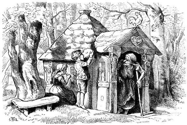 Symbolik im Allgemeinen und im weiteren Sinne - Seite 2 Hosemann-Hansel-Gretel-Hexe