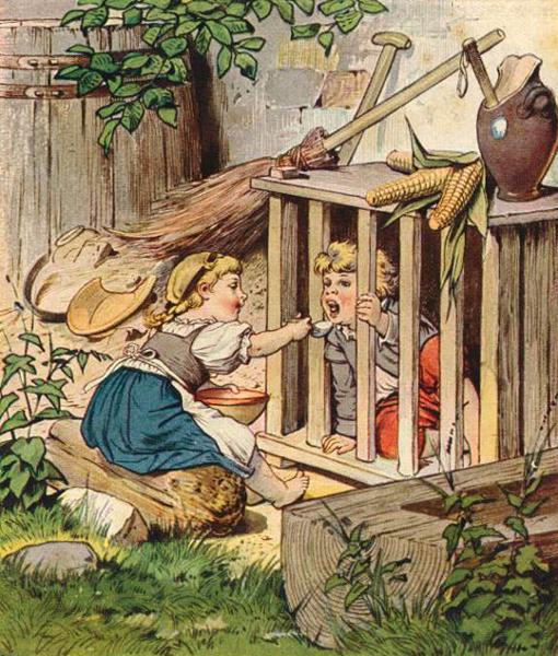 Symbolik im Allgemeinen und im weiteren Sinne - Seite 2 Klimsch-Hansel-und-Gretel