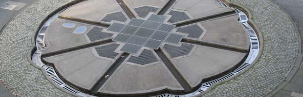 Symbolik im Allgemeinen und im weiteren Sinne Aschrottbrunnen-bodenplatte