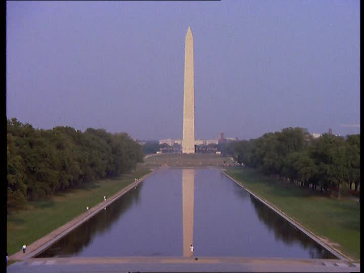 Symbolik im Allgemeinen und im weiteren Sinne Washington-monument