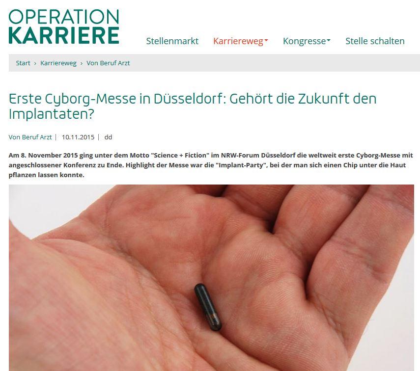 RFID-Chips, Implantate, Transhumanismus, Cyber... + Abschaffung des Bargelds - Seite 3 Operation-karriere