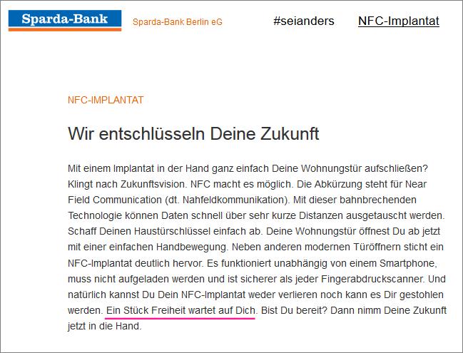 RFID-Chips, Implantate, Transhumanismus, Cyber... + Abschaffung des Bargelds - Seite 4 Sparda-bank_chip