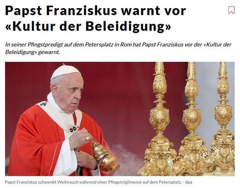 Presseschau - Seite 53 Papst-pfingstmesse