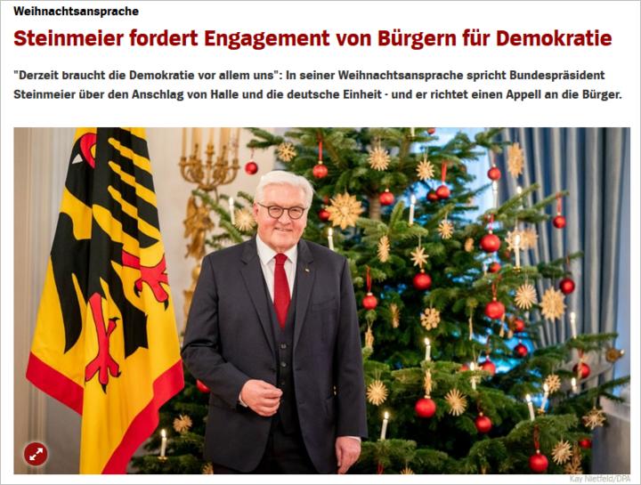Weihnachten - Seite 5 Steinmeier-weihn-anspr