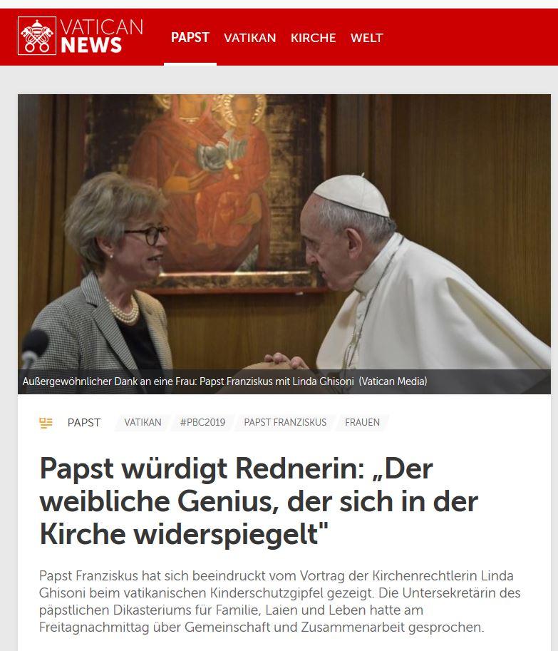 Venus ruleZ Vatikan-news